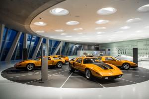 Ausstellung des C111 im mercedes-Benz Museum Stuttgart