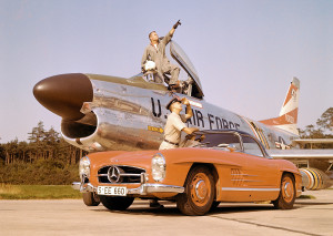 Mercedes-Benz Typ 300 SL Roadster (W 198 II, 1957 bis 1963), 1960.