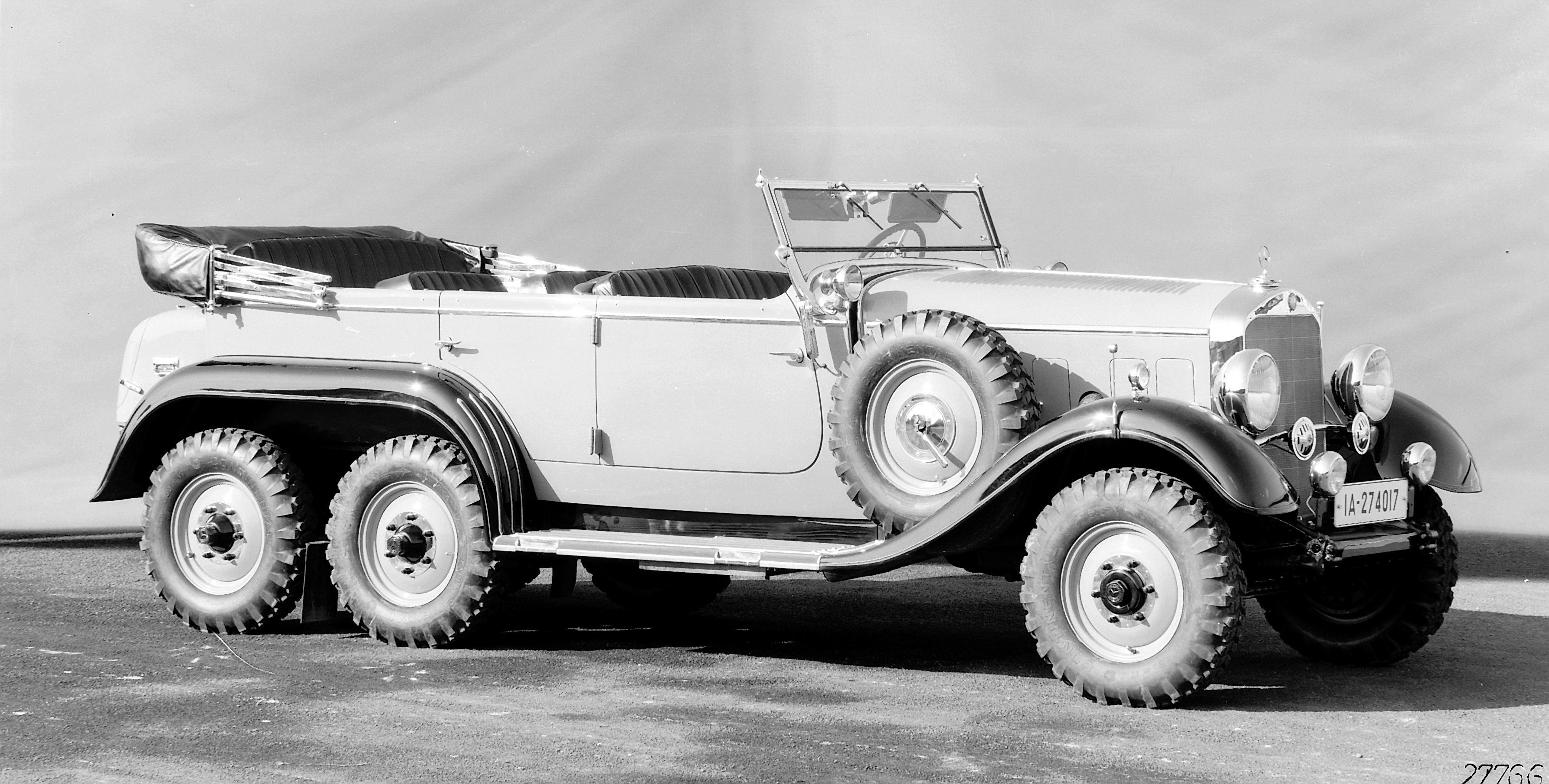 Der Klassiker den viele gerne vergessen würden – Mercedes-Benz G4 (W31)