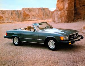 Mercedes-Benz Typ 380 SL (R 107, 1971 bis 1989), USA-Ausführung, Modelljahr 1982.