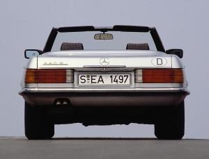 Mercedes-Benz 380 SL (R 107, 1971 bis 1989).