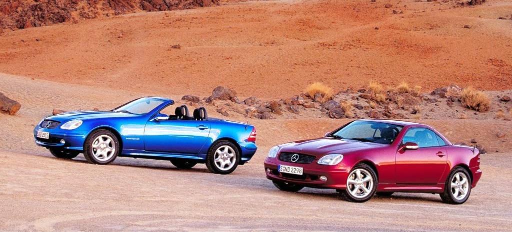 20 Jahre Variodach bei Mercedes – SLK