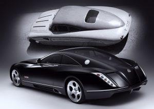 Maybach Exelero Showcar ; Maybach Exelero Show Car;