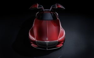 Vision Mercedes-Maybach 6: Studie eines extravaganten Coupés der Luxusklasse; 2016 ; Vision Mercedes-Maybach 6: Study of an ultra-stylish luxury-class coupé; 2016;