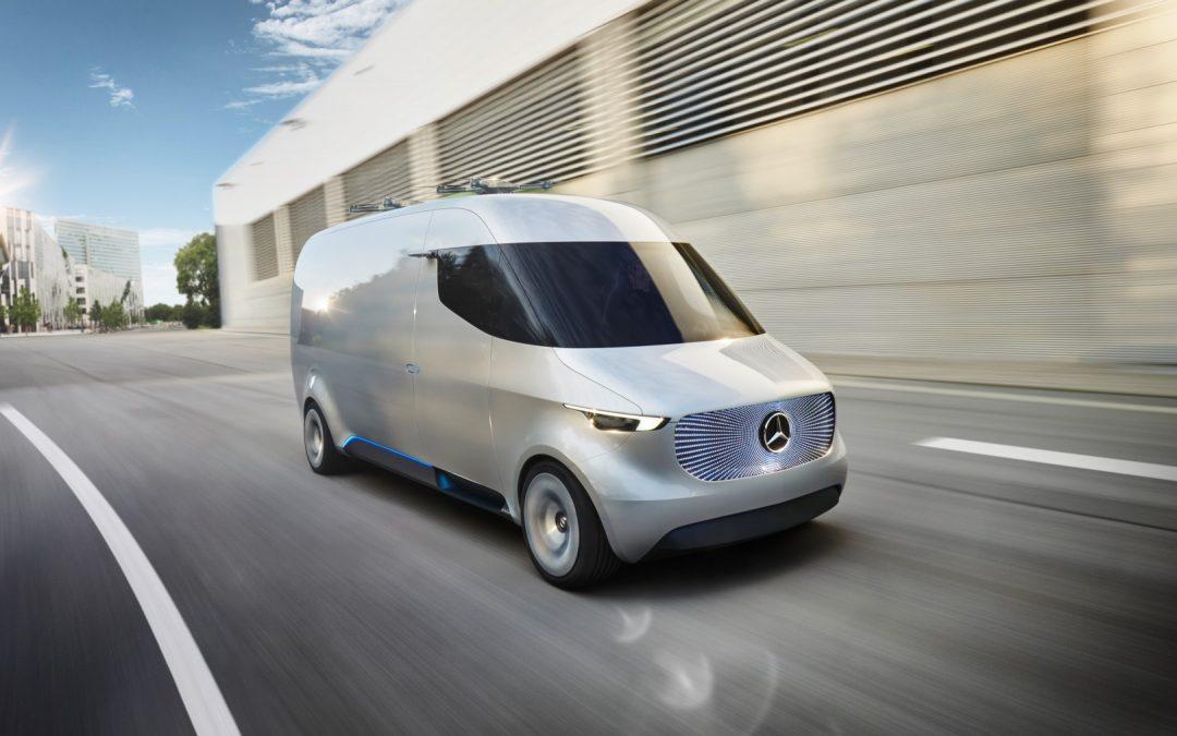 Revolution für den Lieferverkehr – Mercedes-Benz Vision Van