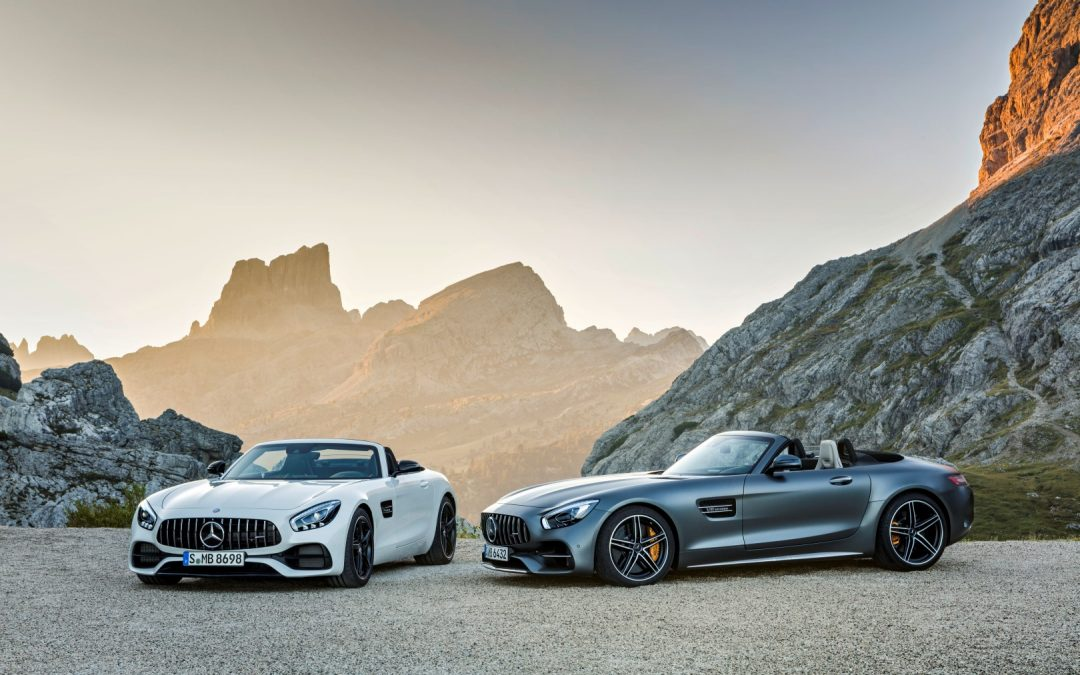 Oben-Ohne Supersportler – AMG GT Roadster