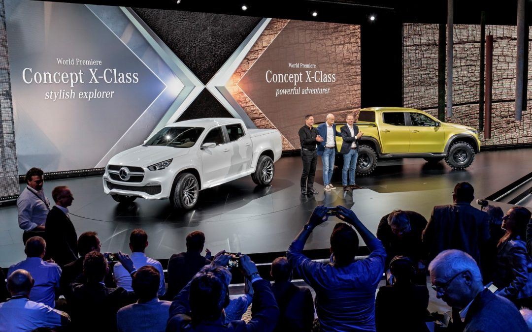 Der erste Mercedes-Benz Pickup – Concept X-Class
