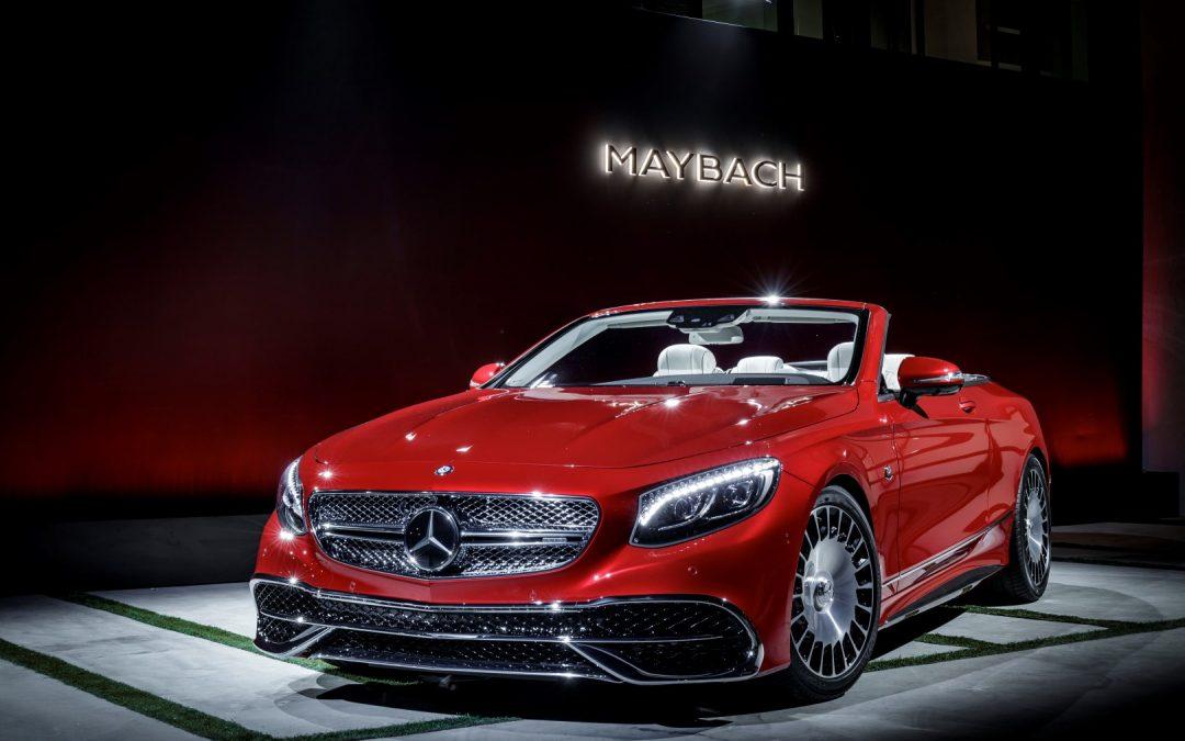 Mit Blick auf die Sterne – Mercedes-Maybach S 650 Cabriolet
