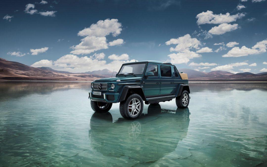 Unser Lord möchte ins Gelände – Mercedes-Maybach G 650 Landaulet