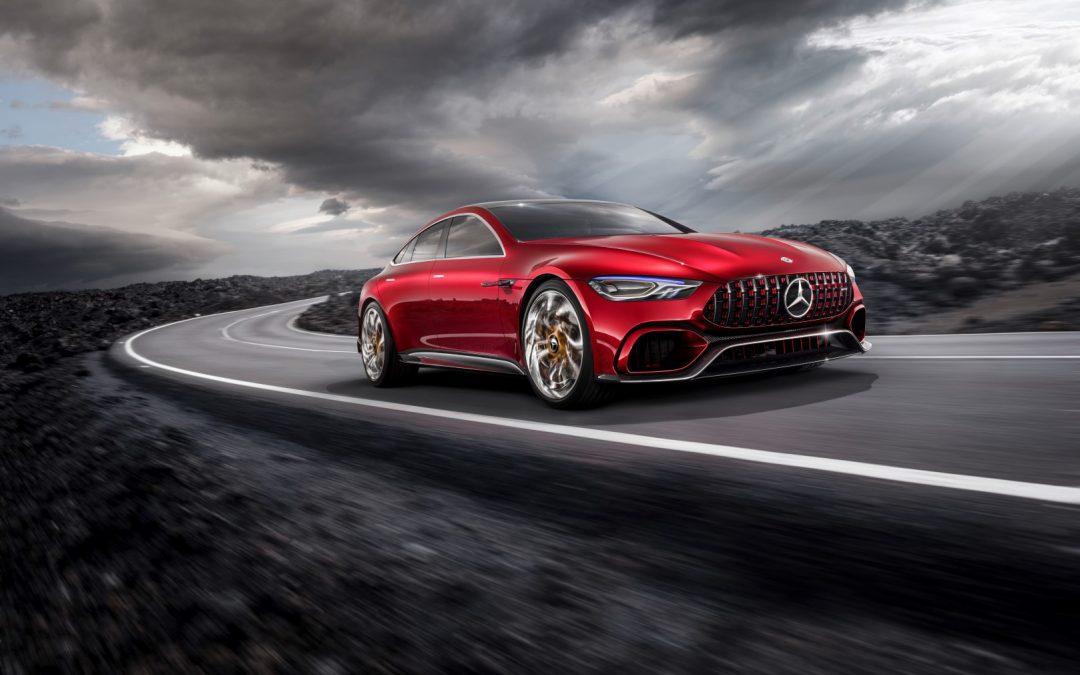 AMG hybridisiert – Mercedes-AMG GT Concept