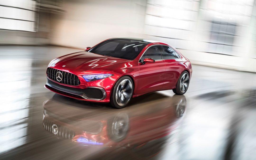 Mercedes-Benz Concept A Sedan – Die A-Klasse wird wichtiger