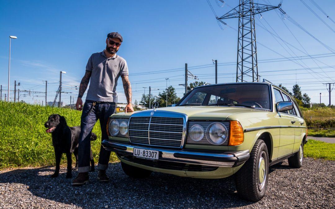 Bikes, Engines, Rock'n Roll und Mercedes! – Dany Kunz und sein Mercedes-Benz 250 T