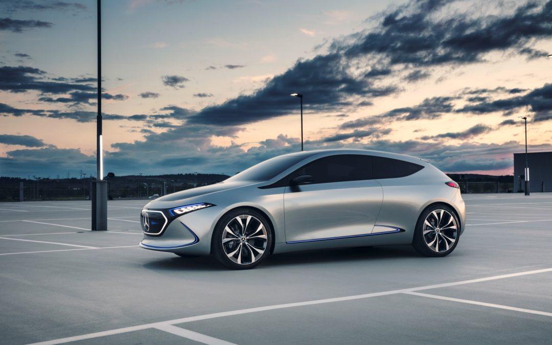 Zunkunfts-E-Mobilität in der Kompaktklasse – Mercedes-Benz Concept EQA