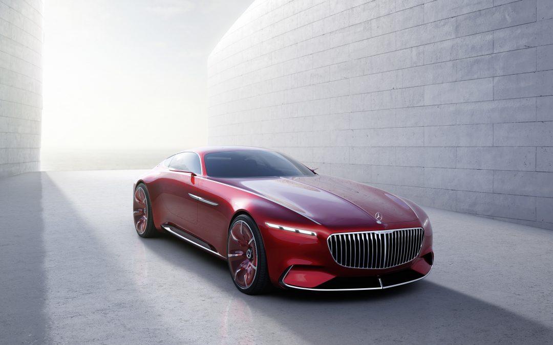 Das Über-Coupé – Vision Mercedes-Maybach 6